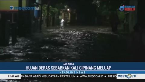 Ratusan Rumah di Ciracas Terendam Banjir