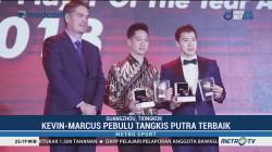 Marcus/Kevin Raih Gelar Pemain Putra Terbaik 2018