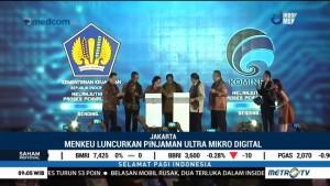 Sri Mulyani Luncurkan Digitalisasi Pembiayaan Ultra Mikro