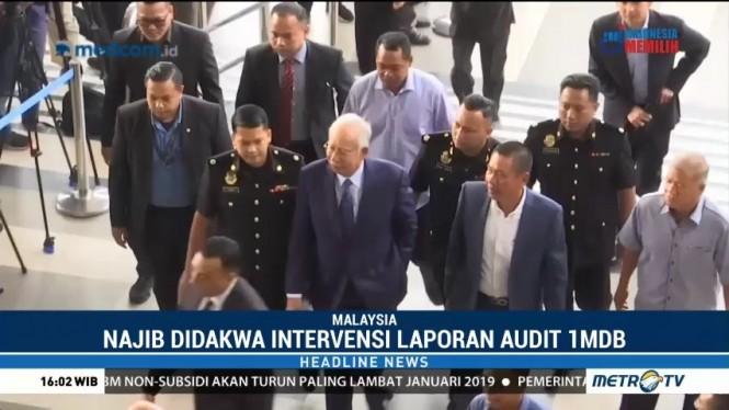 Najib Razak Terancam Hukuman 20 Tahun Penjara