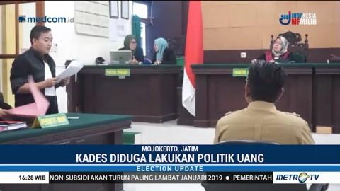 Lakukan Politik Uang, Kades Mojokerto Dituntut 6 Bulan Penjara