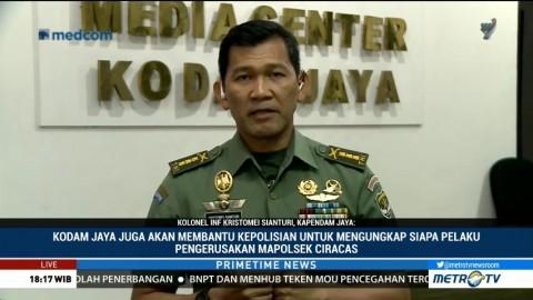 Kerusuhan di Ciracas, Kapendam Jaya Tak Mau Terburu-buru Ambil