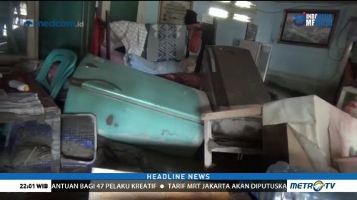 Desa Salua Diterjang Banjir Bandang, Warga Cari Pengungsian