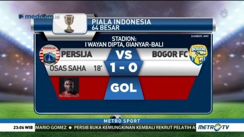Persija Lolos ke-32 Besar Piala Indonesia