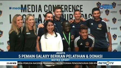 Kunjungi Indonesia, LA Galaxy Berikan Pelatihan dan Donasi