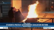 Students Protest Government Education Reform
