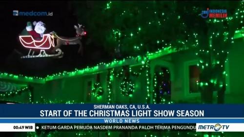 Start of the Christmas Light Show Season