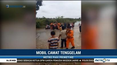 Mobil Camat Jangkat Timur Terperosok ke Sungai, 3 Orang Tewas