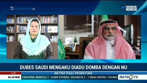 Dubes Arab Saudi Mengaku Salah