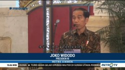 Presiden Jokowi Temui Ratusan Satpam