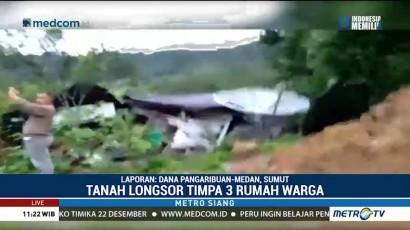 Tiga Rumah di Toba Samosir Tertimbun Longsor, 2 Tewas dan 7 Belum Ditemukan