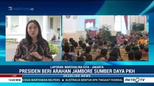 Jokowi Beri Pengarahan di Jambore Sumber Daya PKH