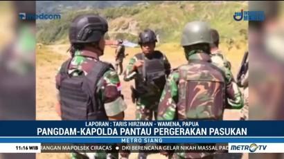 Pangdam dan Kapolda Pantau Perkembangan Situasi Papua