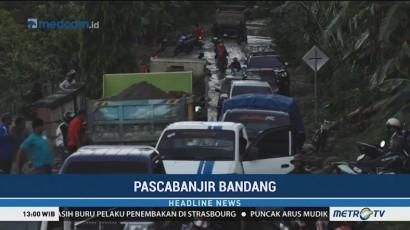Jalur Palu-Kulawi Bisa Dilintasi Pascabanjir Bandang