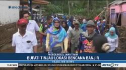 Bupati Probolinggo Tinjau Lokasi Banjir