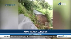 Detik-Detik Tanah Longsor di Aceh Utara