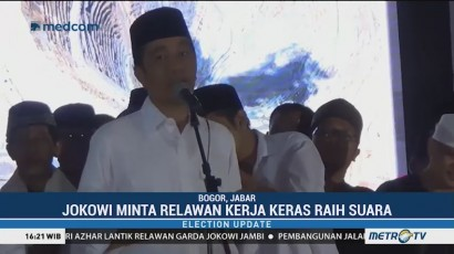 Jokowi Siap Menang di Bogor