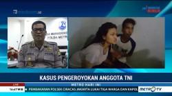 Dua Pelaku Pengeroyokan Anggota TNI Suami Istri