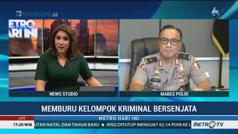 Polisi Ungkap Pemasok Senjata KKB Papua