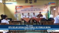 KPU Pati Gelar Sosialisasi Pemilu ke Pemilih Muda
