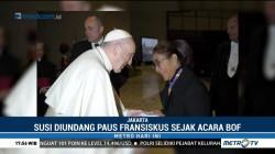 Menteri Susi Bertemu Paus Fransiskus