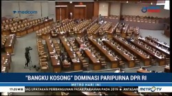 Rapat Paripurna DPR Didominasi Bangku Kosong