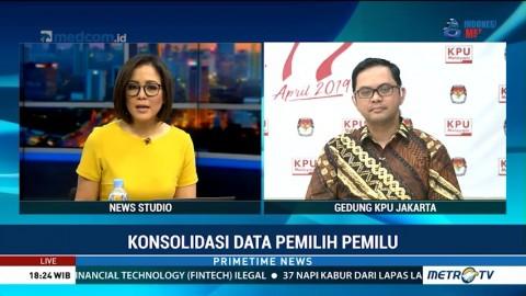 KPU Undang Parpol Jelang Pengumuman DPT Pemilu 2019