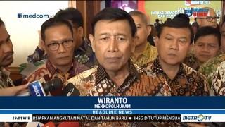 Wiranto: Tindak Tegas Pelaku Pembakaran Mapolsek Ciracas