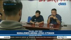 Arema FC Rombak Susunan Pemain dan Pelatih
