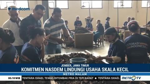 Komitmen NasDem Lindungi Bisnis Tembakau Skala Kecil di Jawa