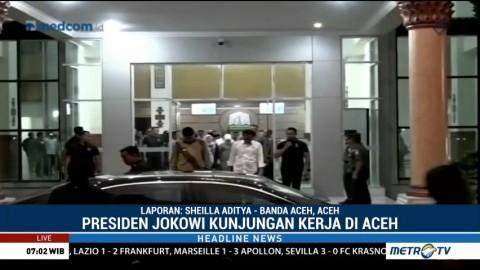 Ini Agenda Jokowi Selama di Aceh