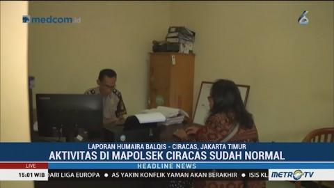 Aktivitas di Polsek Ciracas Kembali Normal