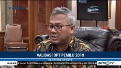 KPU Tetapkan DPT Pemilu 2019 Sabtu Ini