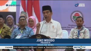 Jokowi: Dana Desa untuk Kesejahteraan dan Ekonomi Rakyat