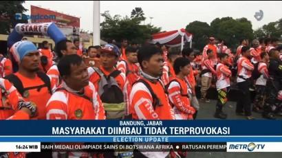 Komunitas Trail Bandung Ikut Deklarasi Pemilu Damai