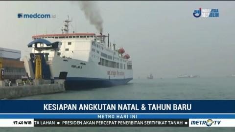 Jelang Libur Natal, Pelabuhan Merak Siapkan 32 Kapal RoRo