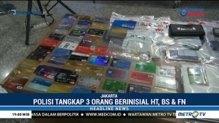 Polisi Ciduk 3 Pelaku Pembobolan Kartu Kredit