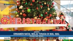 Semarak Perayaan Natal di Mall Ibu Kota