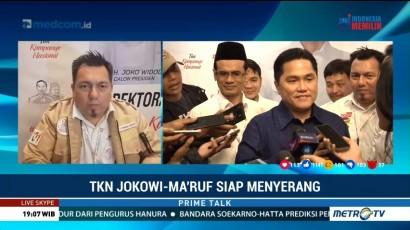 TKN Jokowi-Ma'ruf Siapkan Serangan ke Kubu Lawan