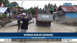 Warga Sigi Kembali ke Pengungsian Akibat Banjir Bandang