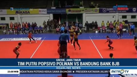 Jakarta PGN Popsivo Polwan Tumbangkan Bandung Bank BJB Pakuan