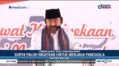 Surya Paloh Berikan Kuliah Umum Kebangsaan di Lombok Barat