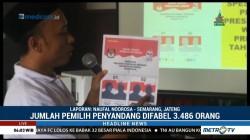 KPU Banyumas Sosialisasi Pemilu ke Difabel