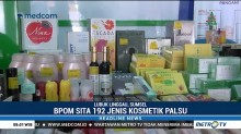 BPOM Sumsel Sita Ribuan Kosmetik Ilegal