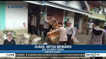 30 KK Mengungsi Akibat Banjir Bandang di Sigi