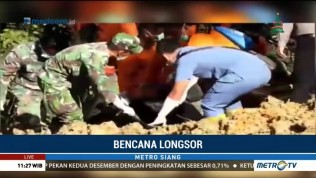 Satu Korban Longsor di Toba Samosir Ditemukan