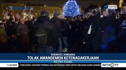 Wujud Protes Anti Pemerintah, Warga Budapest Gelar Unjuk Rasa