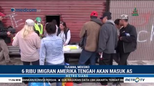 Ribuan Imigran Amerika Tengah akan Masuk AS