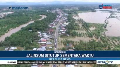 Banjir, Jalan Lintas Sumatera Ditutup Sementara Waktu