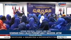 Seminar Caleg Perempuan Partai NasDem di Jatim